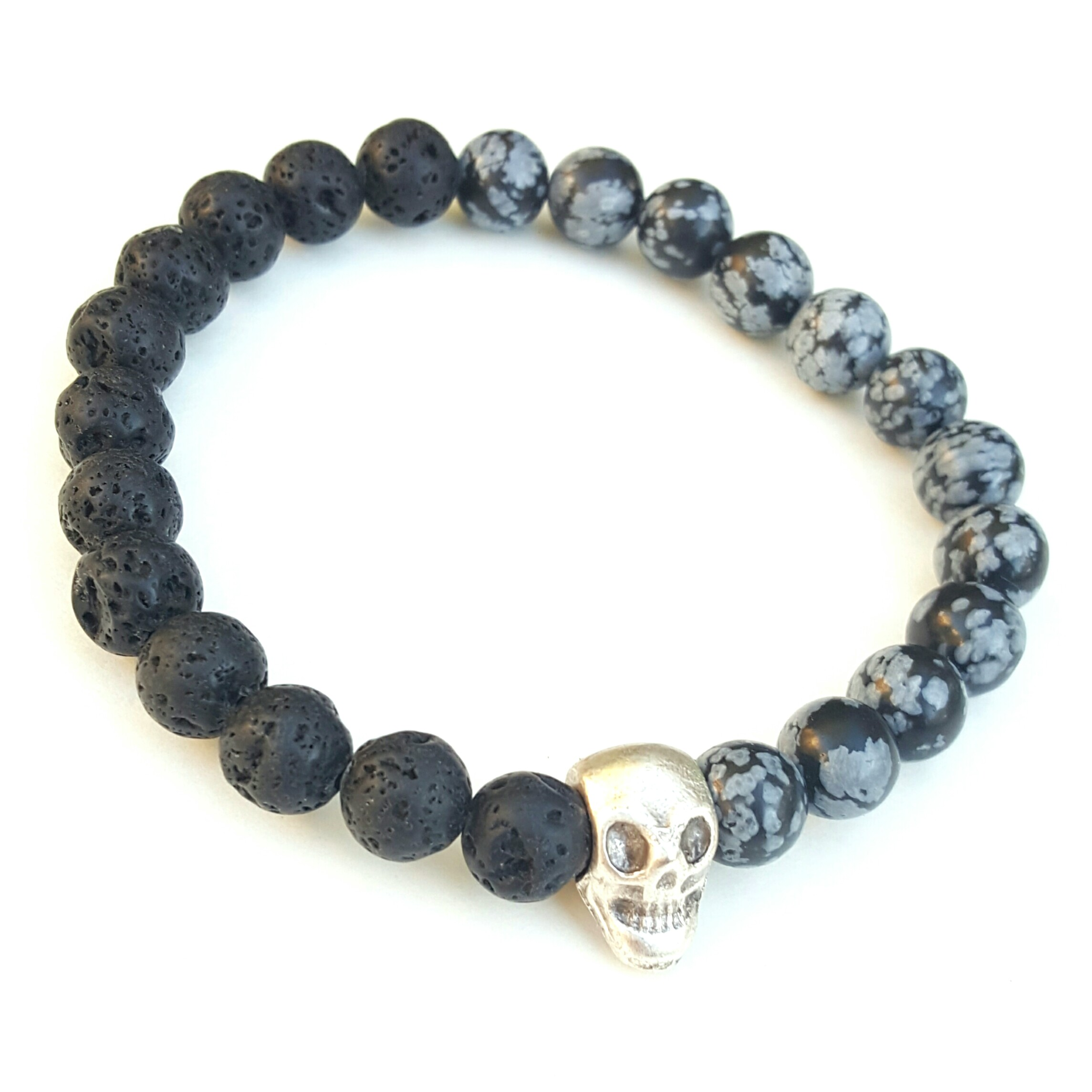 and stone from collection bracelet fossil grizzly iconic bead elastic the black species dinosaur lava product power